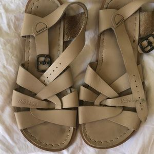 03238d68043e Salt Water Sandals by Hoy Shoes - Tan Authentic Saltwater sandals. Size 7-8